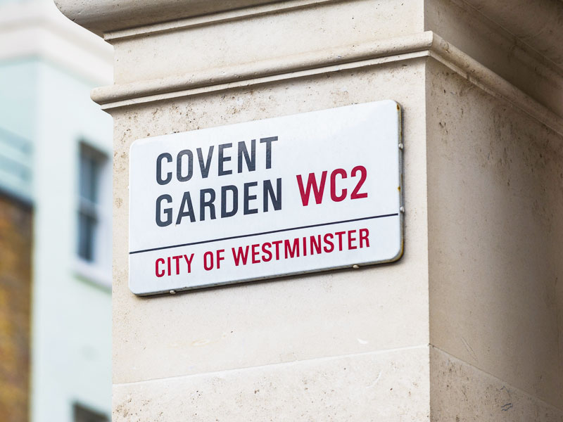 Covent Garden — a guide to the local area